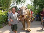 Eden Project - Dinosaur - July 2014