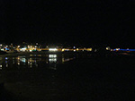 Christmas Lights - St Ives Harbour - December 2012