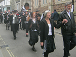 St Pirans Day Parade - St Ives - March 2013