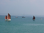 Boats In The Bay - St Ives Harbour - September 2014