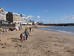 Sunny Winter Day - Harbour Beach St Ives - February 2016