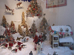 Christmas Window - Fore Street St Ives - Hudson Art - December 2013