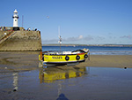 Harbour Beach - St Ives - Fishing Boat SS225