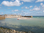 Harbour Beach - St Ives - Across The Harbour