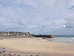 Harbour Beach - St Ives - Sunny Winters Day