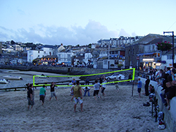 St Ives Cornwall - Beach Volleyball