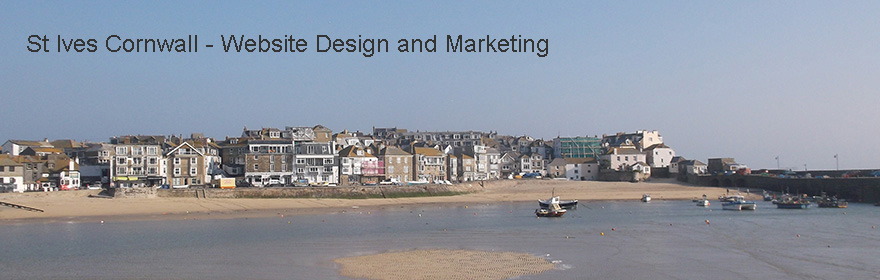 St Ives Cornwall - Website Design