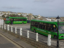 St Ives Cornwall - Bus Station