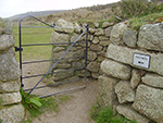 Rosewall Hill - St Ives - Cornwall - Entrance Gateway