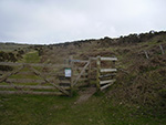 Rosewall Hill - St Ives - Cornwall - Gate - Stile
