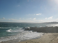 St Ives Cornwall - Webcam - Porthgwidden Beach