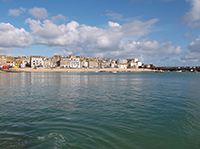 Film - St Ives Harbour - Sunny Autumn Morning